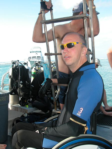 Cayman Brac Divers With Disabilities 2006