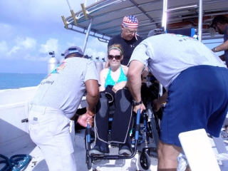 Cozumel Divers With Disabilities 2009