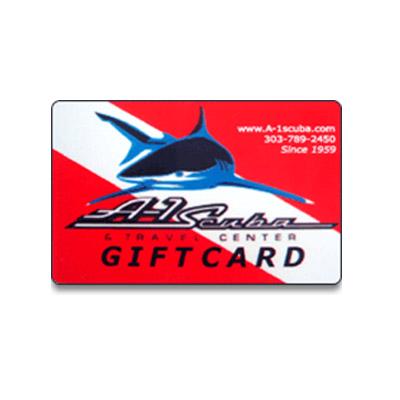 A-1 Scuba Gift Card