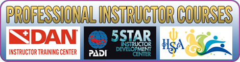 professional level scuba instructor courses